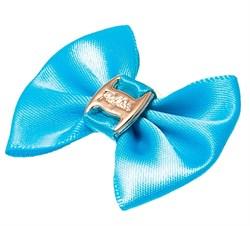 Пет Люкс Бантик  бабочка  (пара) 3,5см*2,5см синие - фото 6876