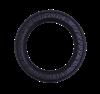 Doglike Кольцо 8-мигранное усиленное большое Черный