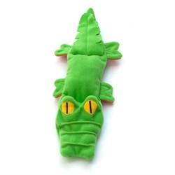 OSSO Крокодил с неубиваемой пищалкой, игрушка для собак OSSO Toys - фото 10094