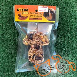 БОСПА ЭКО Лакомство для грызунов с кэробом в форме гриба