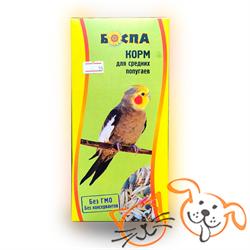 БОСПА Корм средних попугаев