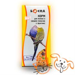 БОСПА Корм для попугаев с фруктами