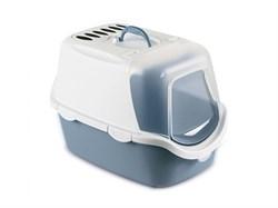 Биотуалет для кошек с угольным фильтром Stefanplast CATHY EASY CLEAN 56*40*40 см - фото 11561