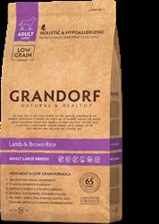 Сухой корм для собак GRANDORF Ягненок с рисом для КРУПНЫХ пород 12 кг - фото 11851
