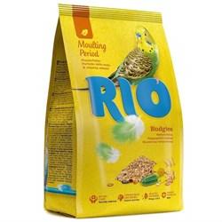 РИО. Корм для волнистых попугайчиков в период линьки 500гр - фото 11960