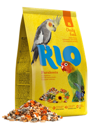Корм для средних попугаев Основной рацион РИО 500гр - фото 11961