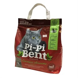 Наполнитель Pi-Pi-Bent Сенсация свежести, 5 кг - фото 13168