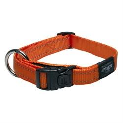 Ошейник для собак Rogz FANBELT 20мм*34-56см, оранжевый - фото 5326