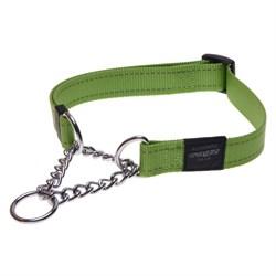 Ошейник-удавка для собак Rogz LUMBERJACK 25мм*43-70см, зеленый - фото 5417