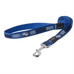Поводок для собак Rogz ARMED RESPONSE 25*120см, синий - фото 5597