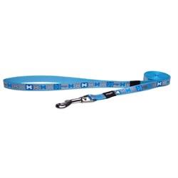 Поводок для собак удлиненный Rogz REFLECTO 10мм*180см, синий - фото 5860