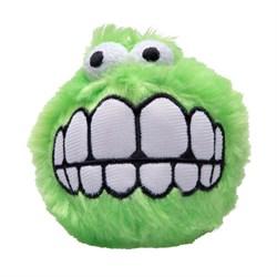 Rogz Игрушка мягкая мяч с принтом  Зубы  Fluffy Gring CGR05L - фото 6032