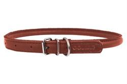 Collar Ошейник CoLLaR SOFT  ширина 35 мм длина 57-71 см коричневый - фото 6069