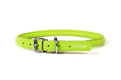 Collar Ошейник  CoLLaR GLAMOUR круглый для длинношерстных собак шир 10 мм дл 39-47 см зеленый - фото 6098