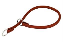 Collar Ошейник-удавка рывковый CoLLaR SOFT ширина 10мм длина 50см коричневый