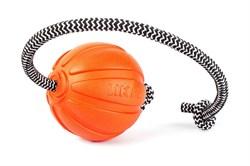 Collar Мячик ЛАЙКЕР корд на шнуре, 7 см - фото 6142
