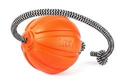 Collar Мячик ЛАЙКЕР корд на шнуре, 9 см - фото 6144