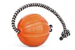 Collar Мячик ЛАЙКЕР корд на шнуре, 5 см - фото 6148
