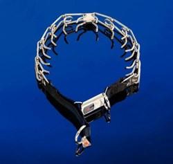 Sprenger Строгий ошейник стальной 3,2мм 52см с двумя кольцами ЗАТЯЖКА