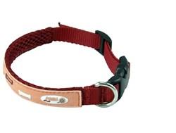 Ошейник Crazy Paws серия BONE, Размер: Medium (41*2 см), Цвет: розовый - фото 7074