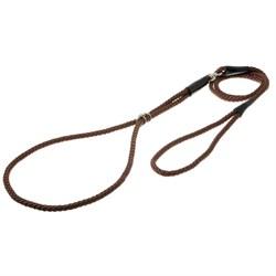 V.I.Pet Ринговка с кольцом круглая (коричневая) PEB-06BR - фото 7206