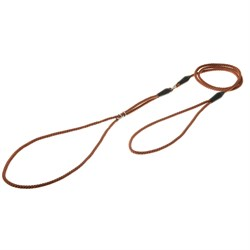 V.I.Pet Ринговка с кольцом круглая (коричневая) PEB-04 BR - фото 7211