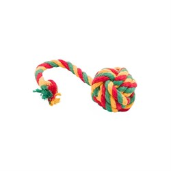 Doglike Канатный мяч малый желтый зеленый красный - фото 7560