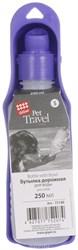 GIGWI Бутылка дорожная 250 мл (Пластиковая 20*5,5 см) - фото 8450