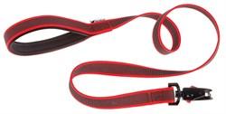 Поводок DAYTONA GUMMY MATIC G15/120 красный - фото 8544