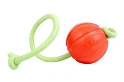 Collar Мячик ЛАЙКЕР 9 ЛЮМИ на шнуре 9см - фото 8648