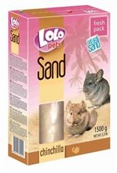 Ло-Ло Петс Песок для шишнилл 1.5кг - фото 8987