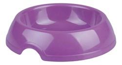 Миска для кошек Феликс 0.2л фиолетовый