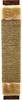 Когтеточка для кошек веревочная узкая джут, 57*12 см