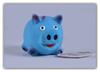 NUNBELL Игрушка для собак Свинка с пищалкой, 12.2х7.5см