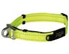 Ошейник для собак с системой безопасности Rogz SAFETY COLLAR 16мм*24-39см, лимонный