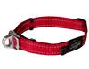 Ошейник для собак с системой безопасности Rogz SAFETY COLLAR 16мм*24-39см, красный
