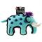 GIGWI Слон с резиновыми вставками 32*15*22см