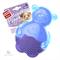 Игрушка GIGWI Мишка с пищалкой , синий 9 см